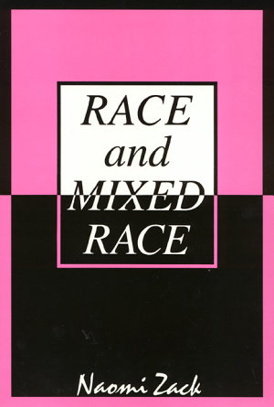 Race and Mixed Race PDF