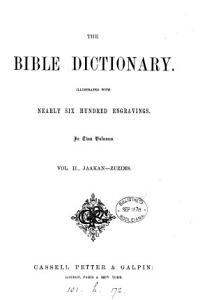 The Bible dictionary PDF