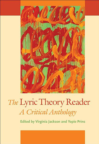 Download The Lyric Theory Reader Book