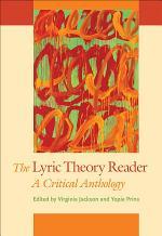 The Lyric Theory Reader