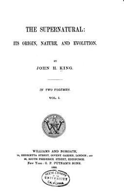 The Supernatural PDF