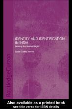 Identity and Identification in India PDF