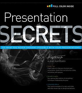 Presentation Secrets Book