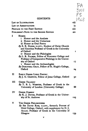 Fifty Years  and Twelve  of Classical Scholarship PDF
