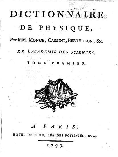 Encyclopedie methodique  ou par ordre de mati  res  Physique PDF