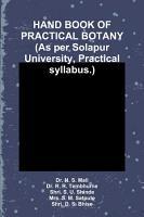 HAND BOOK OF PRACTICAL BOTANY  As per Solapur University  Practical syllabus   PDF