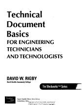 Technical Document Basics for Engineering Technicians and Technologists PDF