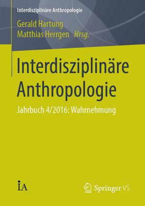 Interdisziplin  re Anthropologie PDF