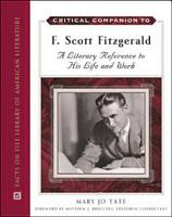 Critical Companion to F  Scott Fitzgerald PDF