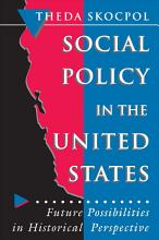 Social Policy in the United States PDF