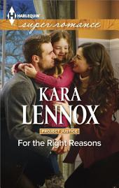 For the Right Reasons: A Single Dad Romance