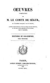 Histoire du Bas-Empire ; tome troisième: Volume 18