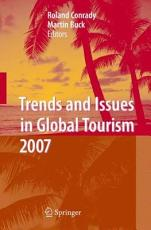 Trends and Issues in Global Tourism 2007 PDF