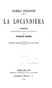 La locandiera: commedia