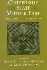 Citizenship and the State in the Middle East PDF