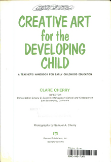 Creative Art for the Developing Child Book