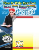 How to Write a Real Kids Real Places Mystery PDF