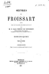 Chroniques de Froissart: 1392-1396