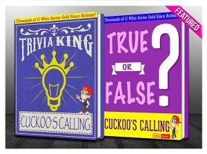 The Cuckoo s Calling   True or False    Trivia King