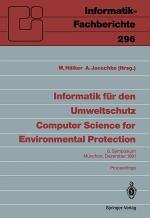 Informatik für den Umweltschutz / Computer Science for Environmental Protection