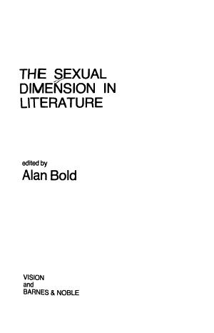 The Sexual Dimension in Literature