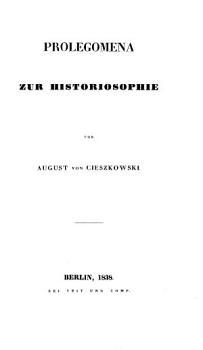 Prolegomena zur Historiographie PDF