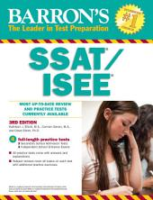 Barron's SSAT/ISEE, 3rd edition