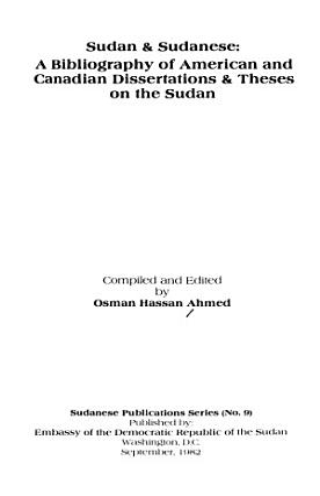Sudan   Sudanese PDF