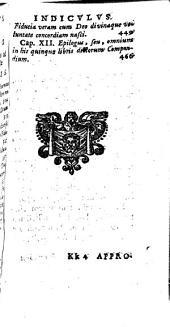 Heliotropium seu Conformatio humanae voluntatis cum divina; libris quinque explicata