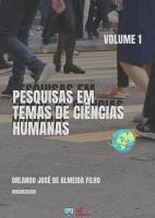 PESQUISAS EM TEMAS DE CI  NCIAS HUMANAS   VOLUME 1 PDF