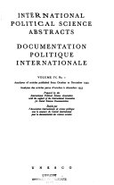Download Documentation Politique Internationale Book