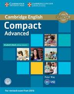 Compact Advanced Student's Book without Answers with CD-ROM