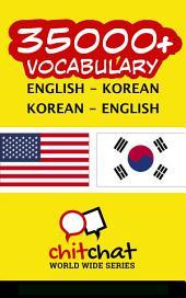 35000+ English - Korean Korean - English Vocabulary