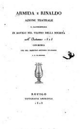 Armida e Rinaldo: Azione teatrale