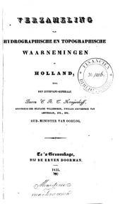 Verzameling van hydrographische en topographische waarnemingen in Holland