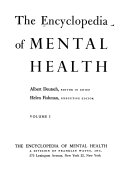 The Encyclopedia of Mental Health PDF