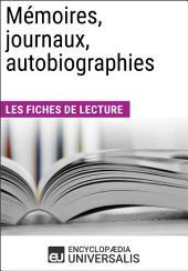Mémoires, journaux, autobiographies: Les Fiches de lecture d'Universalis