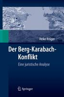Der Berg Karabach Konflikt PDF