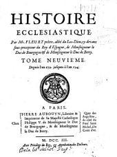 Histoire ecclésiastique: Volume9