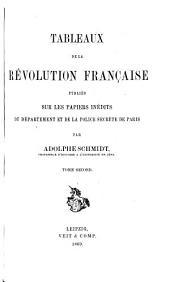 Tableaux de la Revolution Francaise
