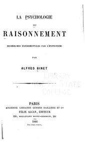 La psychologie du raisonnement, recherches expérimentales par l'hypnotisme