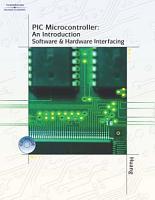 PIC Microcontroller PDF