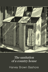 The sanitation of a country house