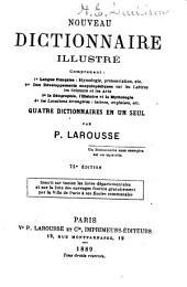 Nouveau dictionaire illustré ...: Quatre dictionnaires en un seul