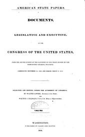 American State Papers: Documents, Legislative and Executive, of the Congress of the United States, Volume 8; Volume 29