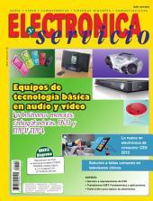 Electrónica y Servicios: Equipos de tecnología básica en audio y video