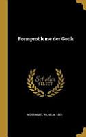 Formprobleme Der Gotik PDF