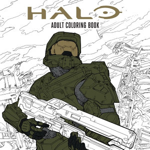 Halo Coloring Book Book