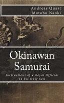 Okinawan Samurai