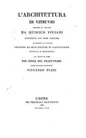 L'architettura di Vitruvio: Volumi 1-2